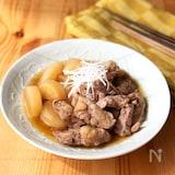 豚バラ軟骨と大根の煮物