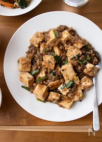 『『甜麺醤要らず。我が家の麻婆豆腐』#八丁味噌#定番中華』