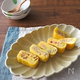 お弁当に嬉しいアレンジ卵♪紅生姜風味の和風オムレツ