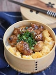 【15分弁当】炭火焼風鶏の照り焼き丼