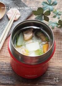 『【スープジャー】石狩鍋風スープ』
