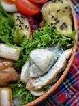 隠し味で激うま♡お弁当の隙間に♡竹輪とキュウリのわさマヨ和え