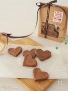 【簡単】材料3つ♡とろける口溶け♪ショコラクッキー