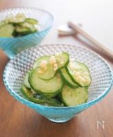 夏に食べたい!さっぱり生姜ポン酢きゅうり