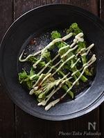 菜の花のオーブン焼き