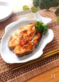 『簡単で激ウマ♡白身魚の旨味こんぶ茶焼き』