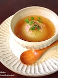 レンチンde時短♡とろぉ〜りがウマイ♡新玉ねぎ丸ごとスープ