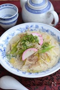 長崎ちゃんぽん風食べるスープ鍋