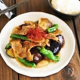 豚バラと夏野菜のスタミナ炒め