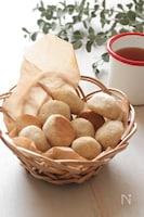 香ばしい♪ごまのコロコロ米粉クッキー