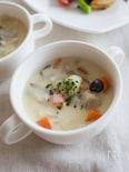 豚バラと野菜のクリームスープ