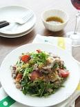 牛肉とクレソンのサラダ