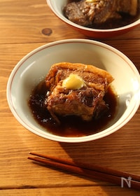 『お箸でほぐれる本格豚の角煮』
