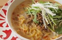 【本格担々麺をおうちで!】インスタントラーメンで作る「汁あり」「汁なし」「つけ麺」担々麺