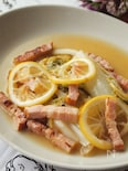 白菜とレモンのグリル