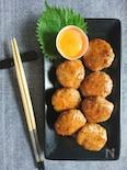 豆腐でふわふわ!つくねの甘辛照焼き(包丁&豆腐の水切り不要)