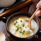 長いものとろとろ♡中華たまごスープ【#とろみづけ不要】