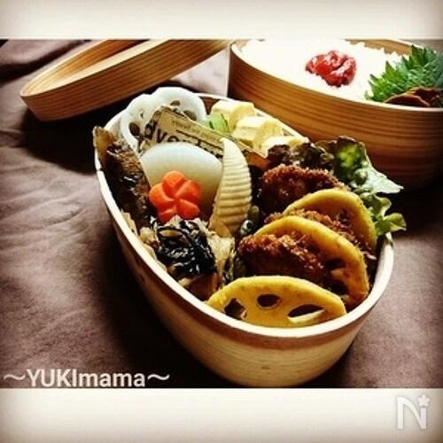 お弁当に〜マヨワイン豚ヒレ肉のミラノ風カツレツ〜