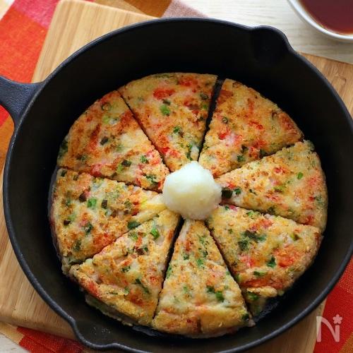 粉なし!大和芋のおろし焼き