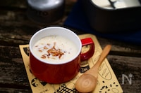 マッシュポテトで作るポタージュスープ