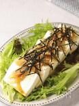 簡単タマネギドレッシングde和風豆腐サラダ