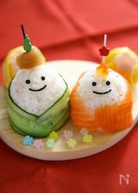 『ひなまつりに!おひなさま手まり寿司!』