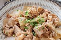 ご飯もビールも進むスピードおかず♡豚肉と大根の韓国風炒め