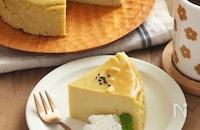 簡単♫滑らかスイートポテトケーキ