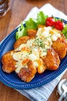 【てりマヨ甘酢チキン南蛮】鶏むね肉しっとり柔らか♡