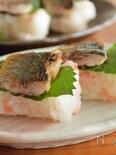 秋の味覚!焼きサンマ寿司
