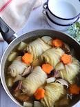 野菜たっぷり*ロール白菜