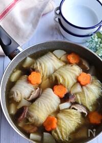 『野菜たっぷり*ロール白菜』