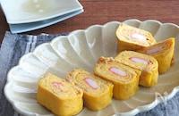 冷めても美味しい和総菜♪お弁当にも◎かにかま入りなめたけ卵