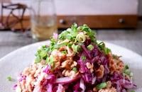 紫キャベツと大根のツナマリネサラダ♪