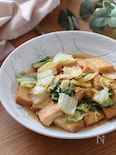 レンチンだけで超簡単*激旨♡レンチン白菜と絹揚げほっこり煮