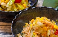 【10分サラダ】レタスとトマトの塩昆布マリネ