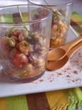 イカとひよこ豆の簡単美味マリネサラダ