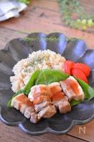 【炊飯器で2品】旨味ご飯と酢豚風プレート