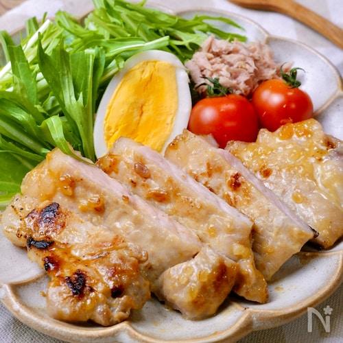 お肉柔らか♡ご飯が進む!『豚ロースの味噌マヨ焼き』