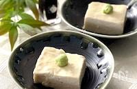 生落花生でジーマーミー豆腐