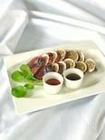 オジンオスンデ(イカの肉詰め)韓国料理