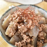 こんにゃくの肉味噌甘辛炒め【作り置き】