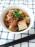 スピード料理☆甘辛味でご飯が進む牛肉と厚揚げの炒めもの