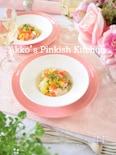 すずきとパプリカの地中海風マリネ ワインのある食卓♪
