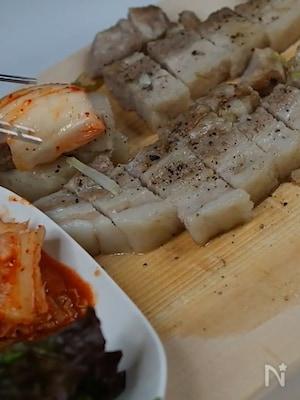 今日のご飯は:簡単に作る韓国ボッサムレシピ[韓国料理レシピ]