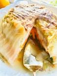 炊飯器で簡単♪ドーム仕立ての白菜カルアチキン