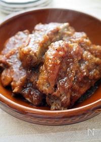 『ほろほろスペアリブの焼肉のたれ煮』
