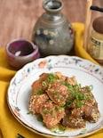 鶏もも肉とこんにゃくの味噌煮込み【作り置き】