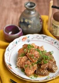 『鶏もも肉とこんにゃくの味噌煮込み【作り置き】』