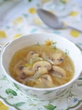 煮込むだけで美味しい♡マッシュルームと玉ねぎの洋風スープ♪